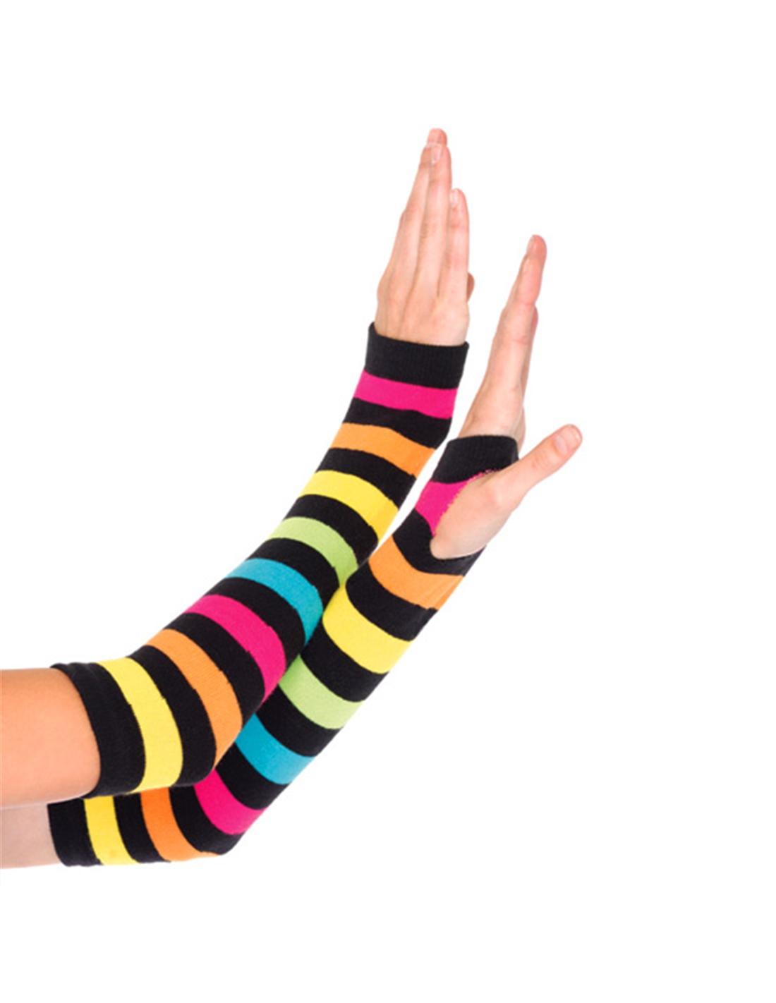 Luvas Aquecedor de braços Neon - Único - PR2010314110