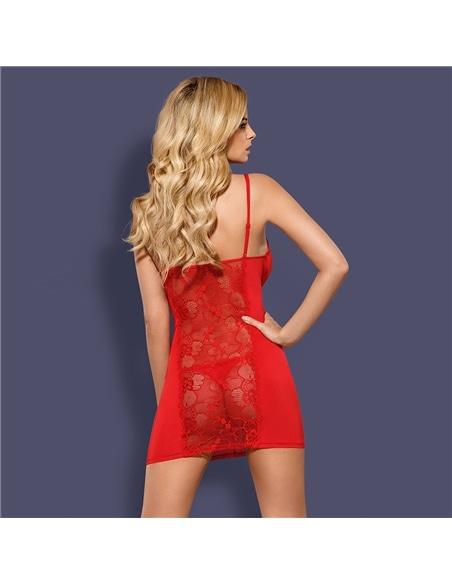 Camisa de Noite e Tanga Heartina Obsessive - 36-38 S/M - PR2010343637